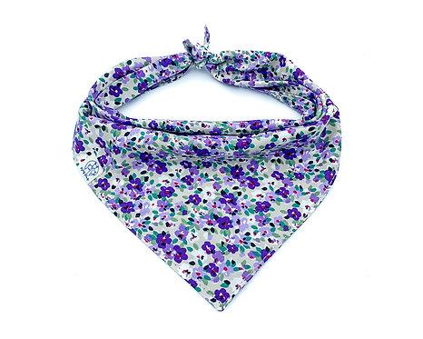 Purple Garden Bandana