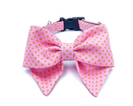 Pinky Blair Bow Collar