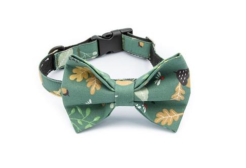 Fall Bow Tie Collar