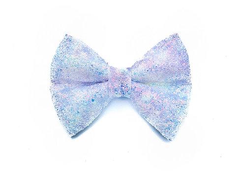 Purple Unicorn Glitter Bow Tie
