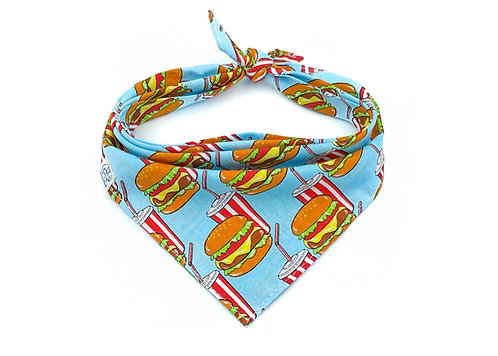 Big Mac - Blue Bandana