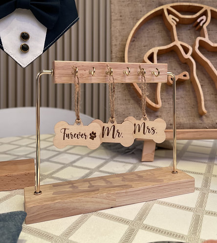 Engraved Wooden Tag