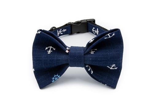 Anchor Bow Tie Collar
