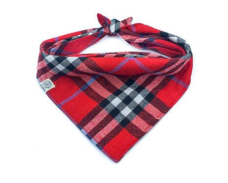 Red Flannel Bandana