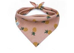 Beige Pineapple Bandana