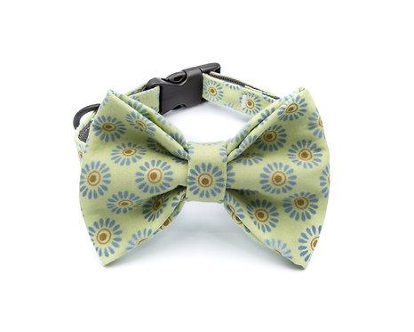 Melon Bow Tie Collar