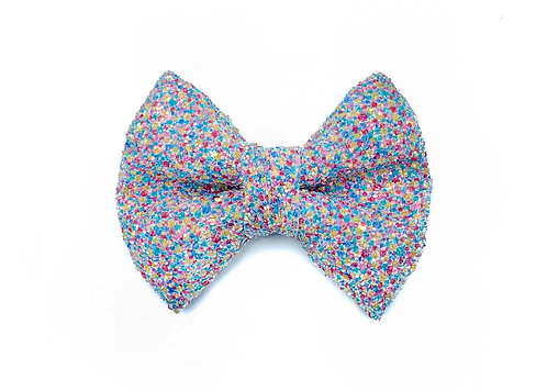 Confetti Glitter Bow Tie