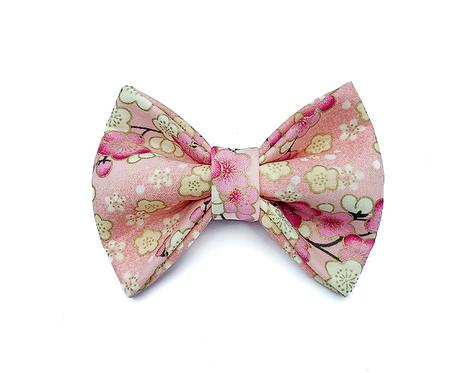 Pink Sakura Bow Tie