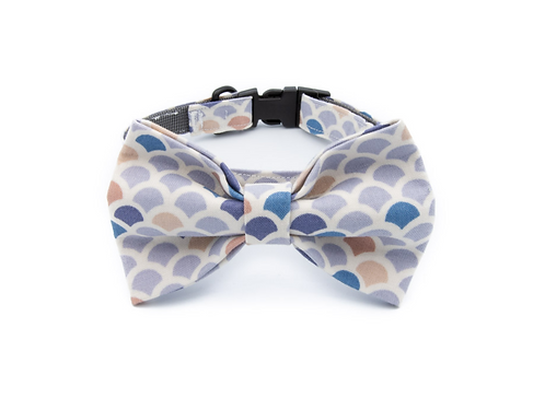 Shell Bow Tie Collar
