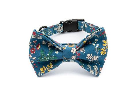 Cherry Bow Tie Collar