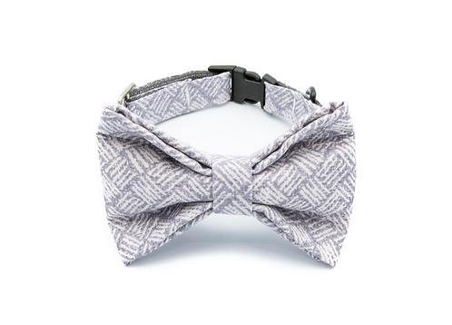 Stripes Bow Tie Collar