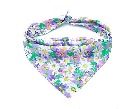 Purple Daisy Bandana