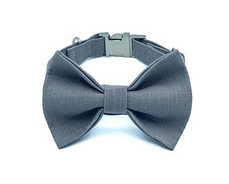 Sesame Macaron Bow Tie Collar