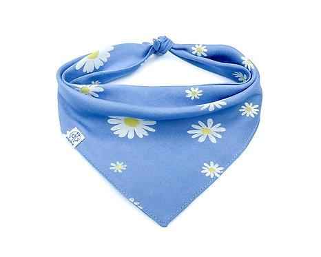 Blue Daisy Bandana