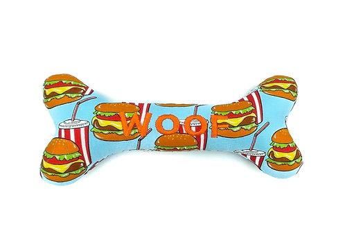 Personalised Dog Squeaky Toy - Big Mac