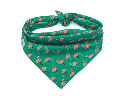 Flamingo Bandana - Green