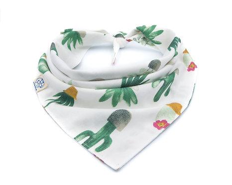 Cactus Bandana - White