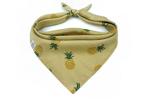 Yellow Pineapple Bandana