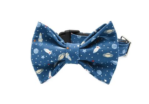 Galaxy Bow Tie Collar