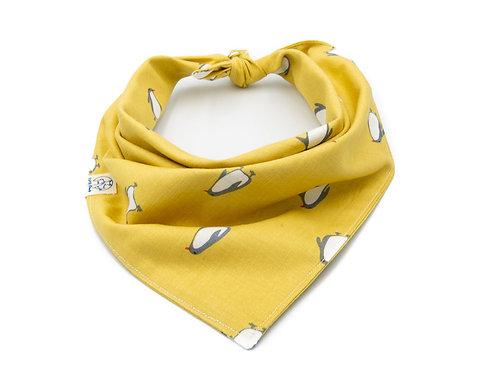 Yellow Penguin Bandana
