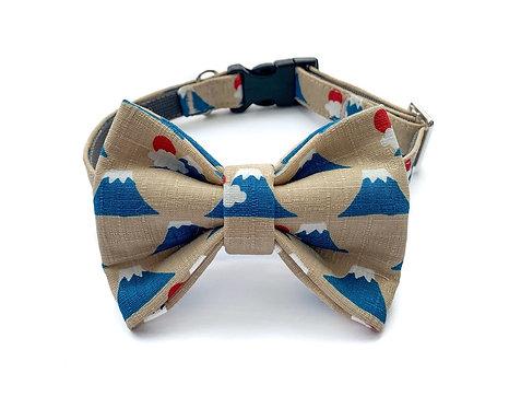 Mount Fuji Bow Tie Collar