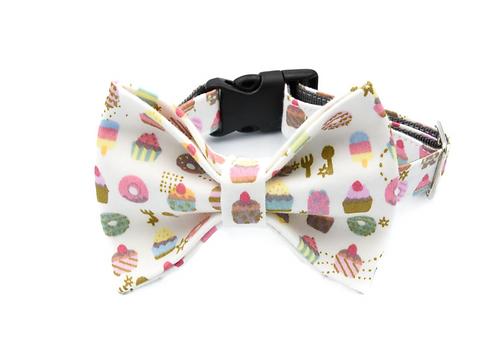 Cupcake Bow Tie Collar