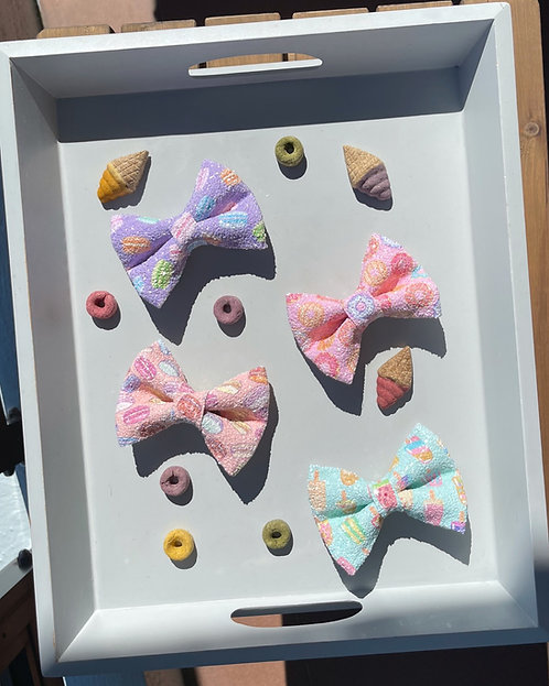 Summer Glitter Bows