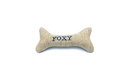 Personalised Dog Squeaky Toy - Woody