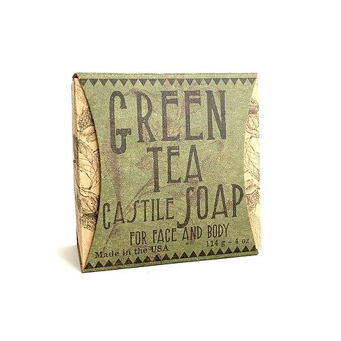 Green Tea Castile Face & Body Soap