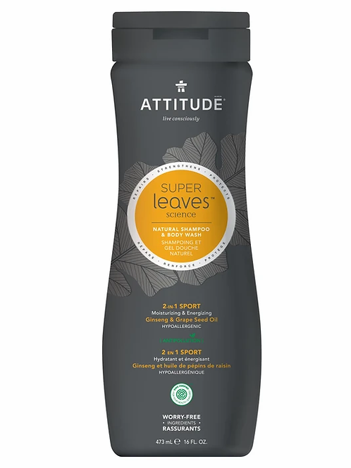 Men's 2-In-1 Shampoo and Body Wash Sport