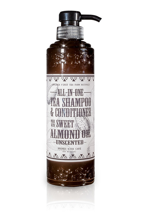 All-in-one Sweet Almond Oil Shampoo & Conditioner