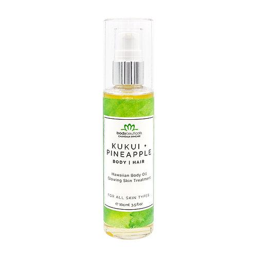 Body + Hair Oil - Kukui Pineapple