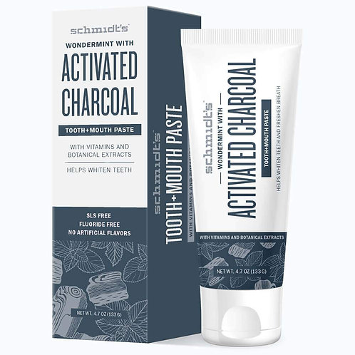 Schmidt ACTIVATED CHARCOAL WITH WONDERMINT