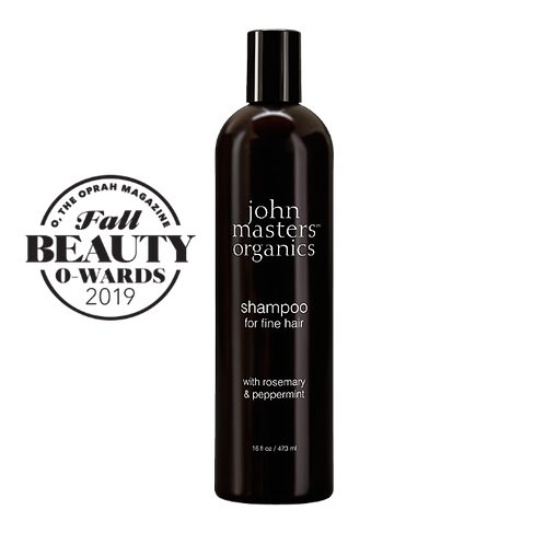 Shampoo For Fine Hair With Rosemary And Peppermint