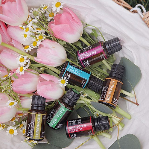 Nature's Fusion Pure Therapeutic Essential Oil Blends