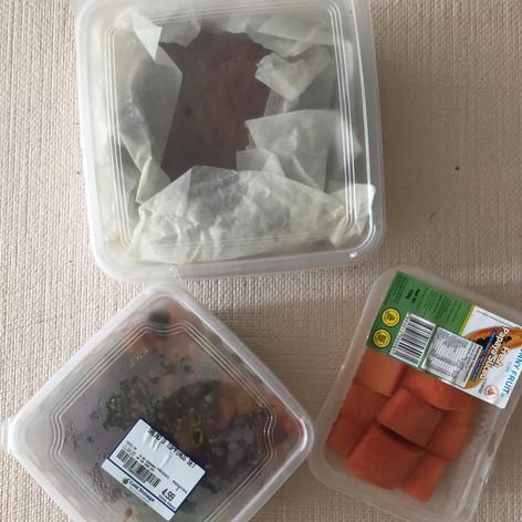 Homemade Cookies and Salad