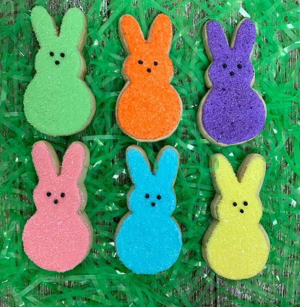 Colorful Bunnies