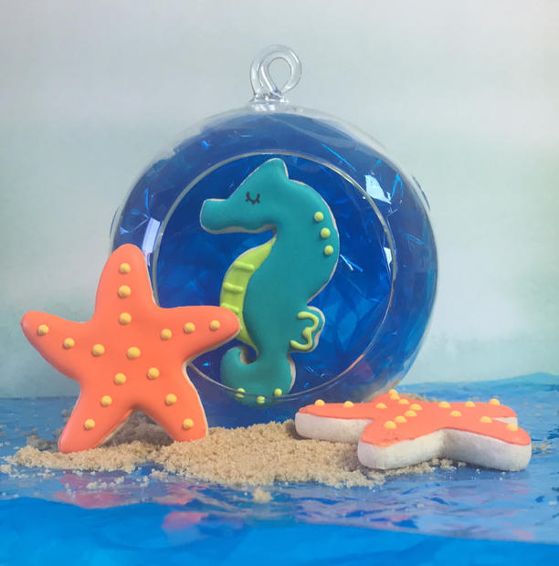 Seahorse and Starfish
