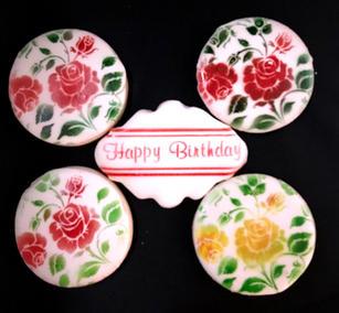 Floral Birthday Set