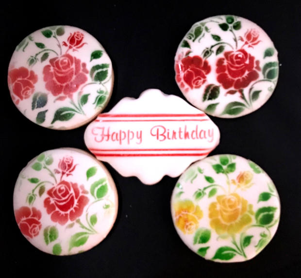 Floral Birthday Set