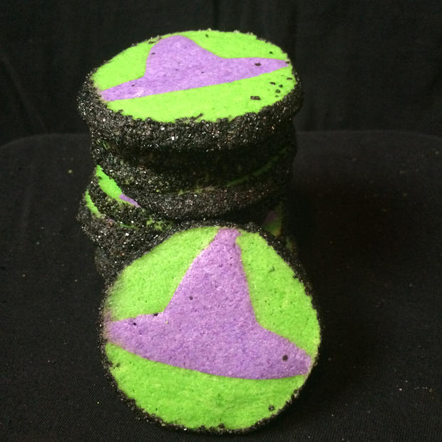 Witch Hat Cutout Cookies