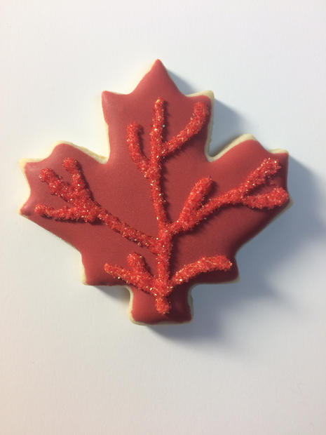 Fall Leaf (red)