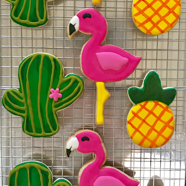 Flamingo/Pineapple/Cactus Set