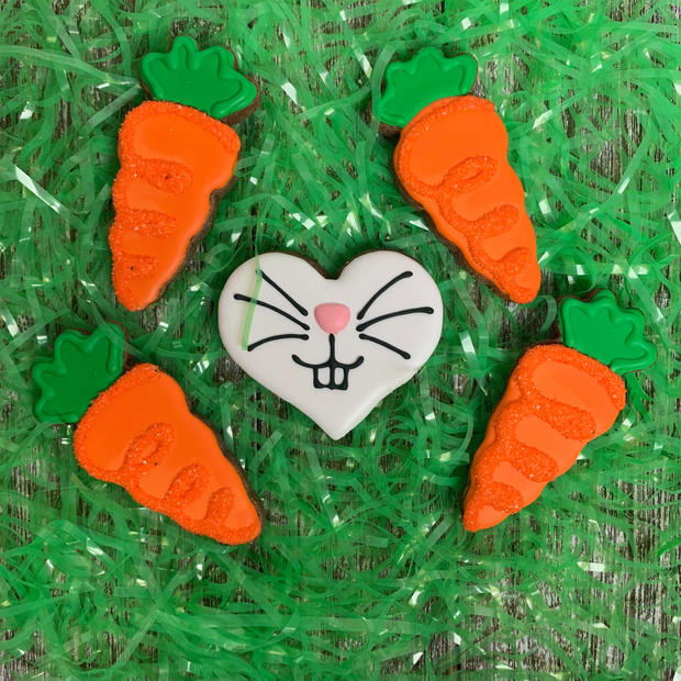 Carrots and Bunny Set