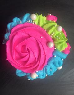 Floral Cupcake 2