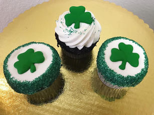 St. Patrick's Day Cupcakes 2