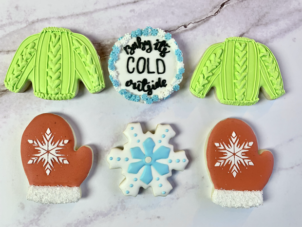 Baby It's Cold Outside Cookies