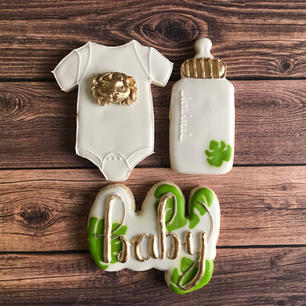 Jungle Themed Baby Shower Set
