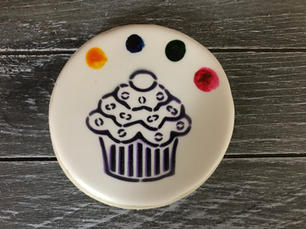 Paint Your Own Cupcake