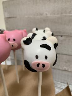 Cow Cake Pop